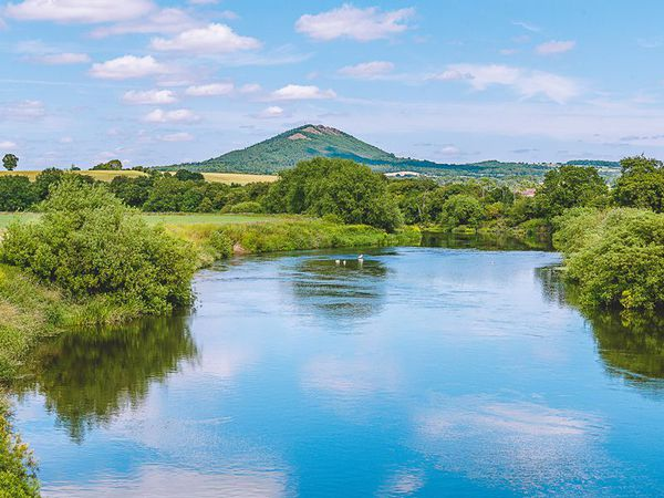 The Wrekin seen from the Cressage area