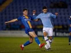 EFL Trophy: Shrewsbury Town 1 Man City U21s 1 (5-6 pens) - Report and pictures