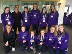Bridgnorth youngsters form girls football teams following meet with Lioness