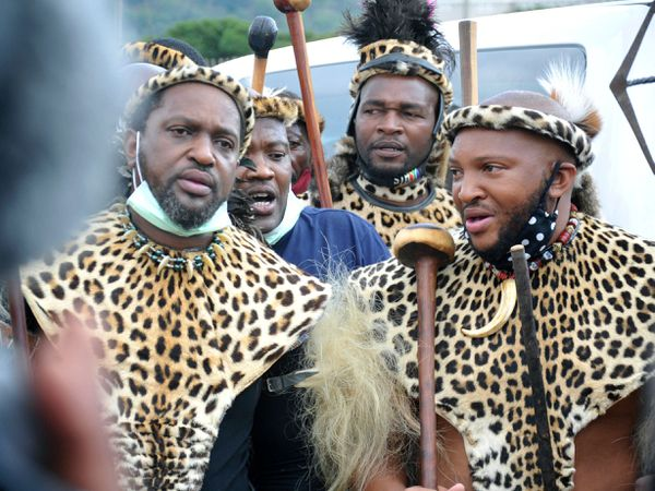 South Africa Zulu King