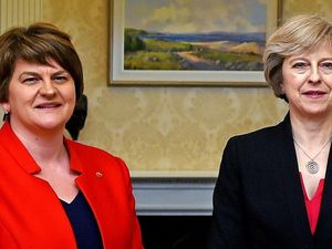 Theresa May and Arlene Foster will hold talks on a deal (Charles McQuillan/PA)