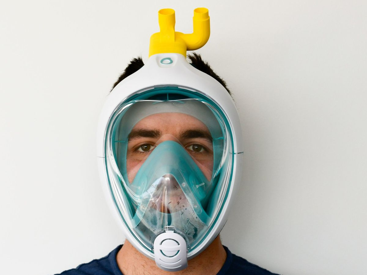 Snorkelling masks are being converted into ventilators with key components made in Telford
