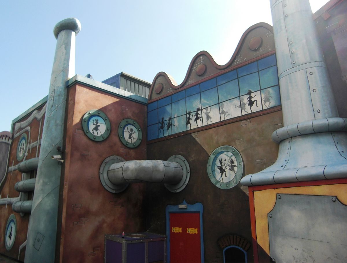 Charlie and the Chocolate Factory ride