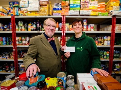 No sign of Oswestry and Border Foodbank being able to close