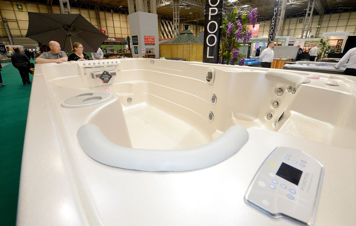 Grand Designs has the ultimate in spa baths