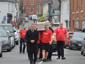 The funeral of Dylan Price was held in Bishop's Castle after the teenager died in a suspected hit-and-run