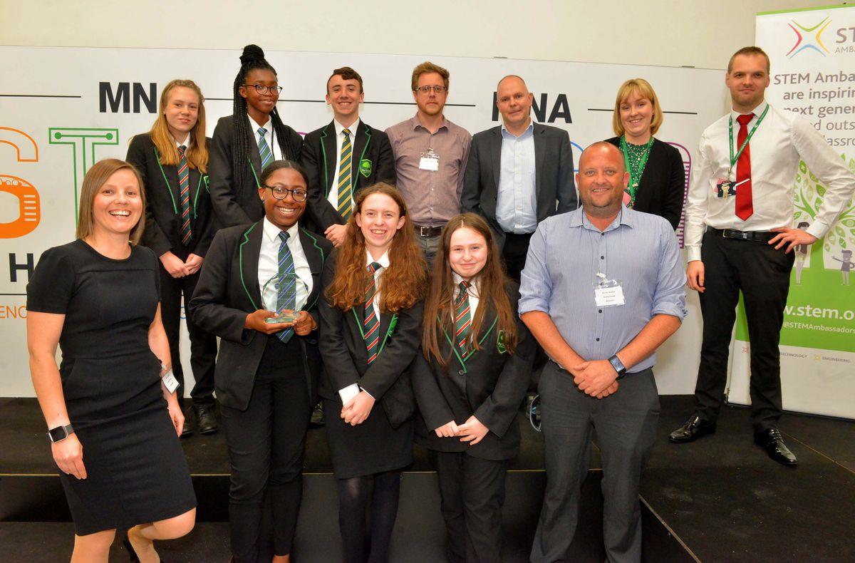 Winner of best presentation: Telford Langley School