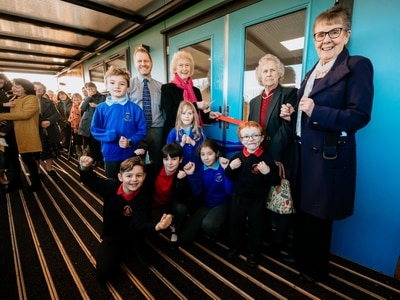 Shropshire schools celebrate merger and open new classrooms