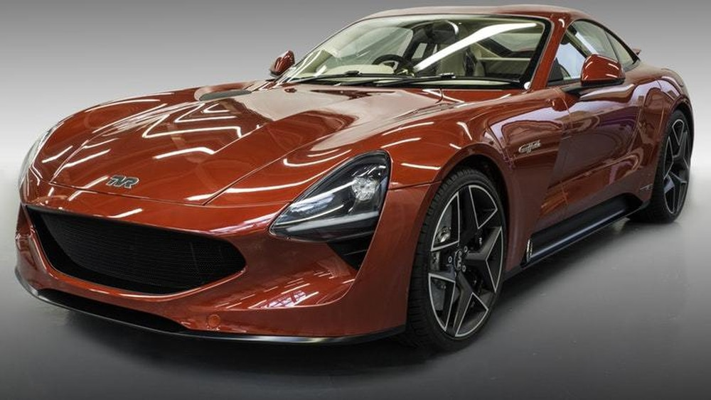TVR Griffith heralds a new dawn for British manufacturer