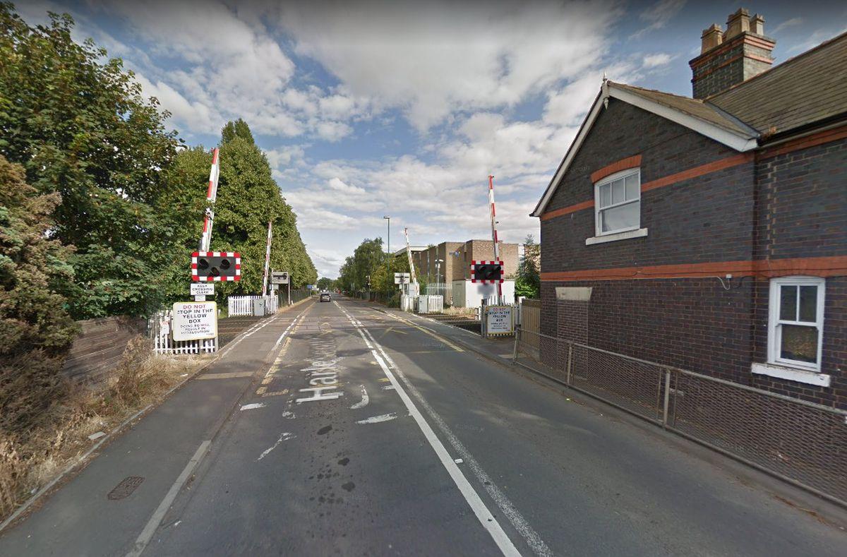 Harlescott Lane level crossing. Photo: Google Street View