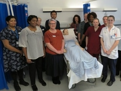 Frontline clinicians in Shropshire enhance skills with simulation suite