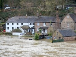 Ironbridge flooding: The eerie peace after a heavy storm