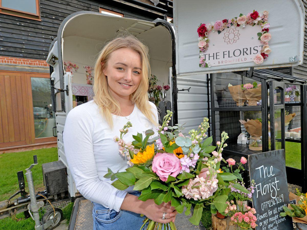 Sam Sexton runs The Florist Bromfield