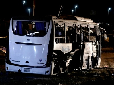 40 militants killed in Egypt after attack on tourist bus