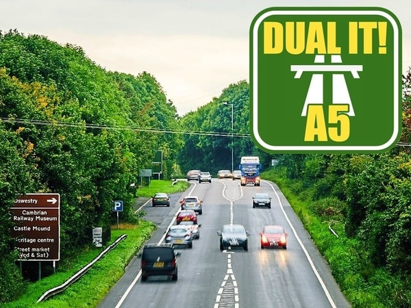 Oswestry A5 dualling plans take step forward