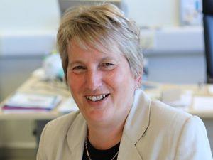Chief executive Dr Gill Eatough
