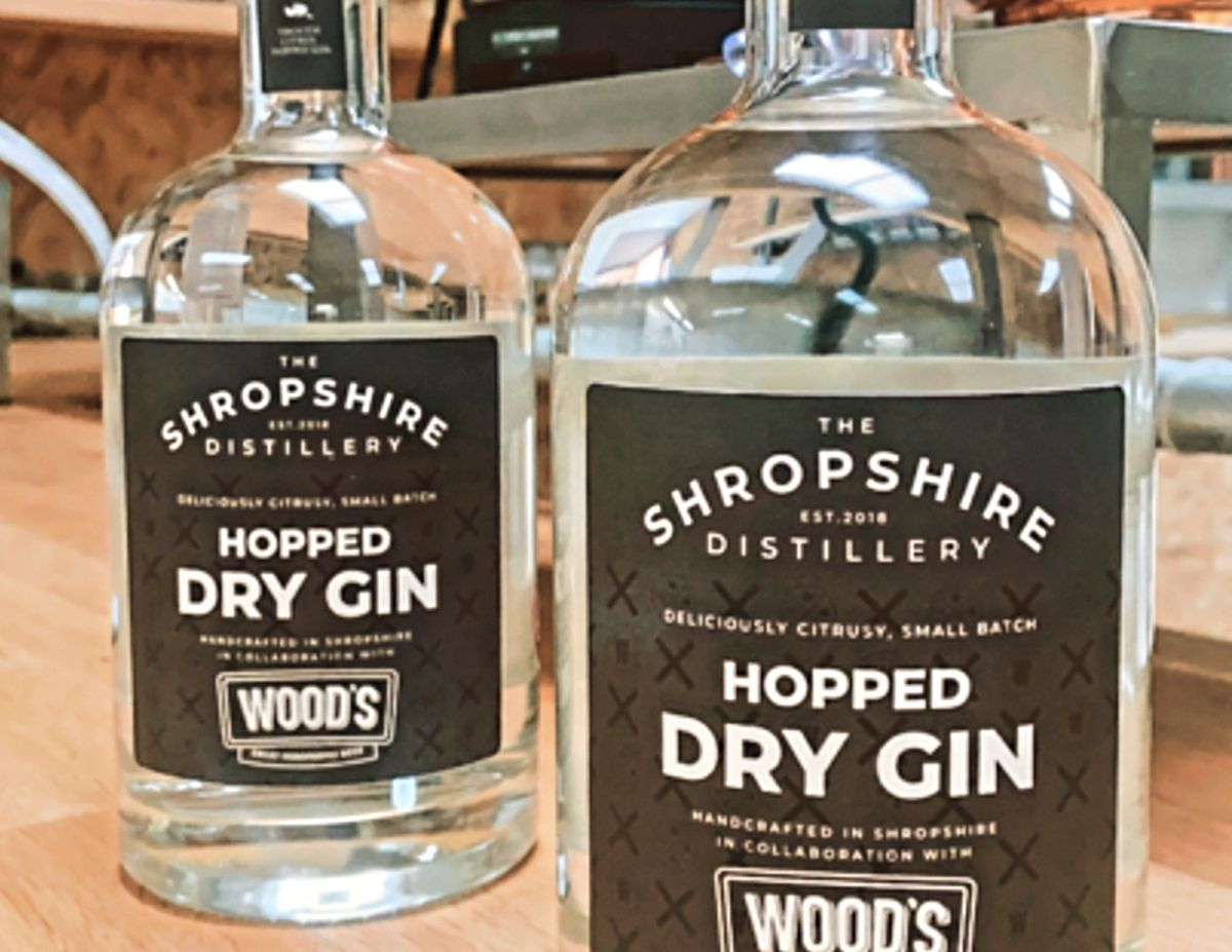 The new Hopped Dry Gin