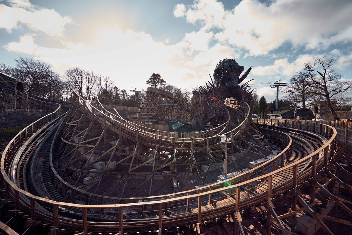 The new WickerMan attraction at Alton Towers helped boost visitor numbers