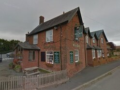 Car crashes into foyer of pub in north Shropshire