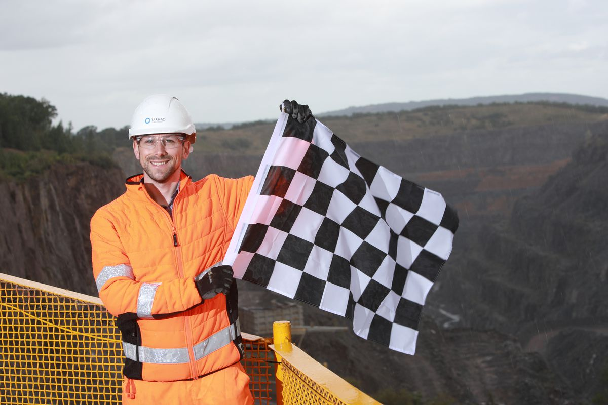 Shropshire quarry creates Silverstone track