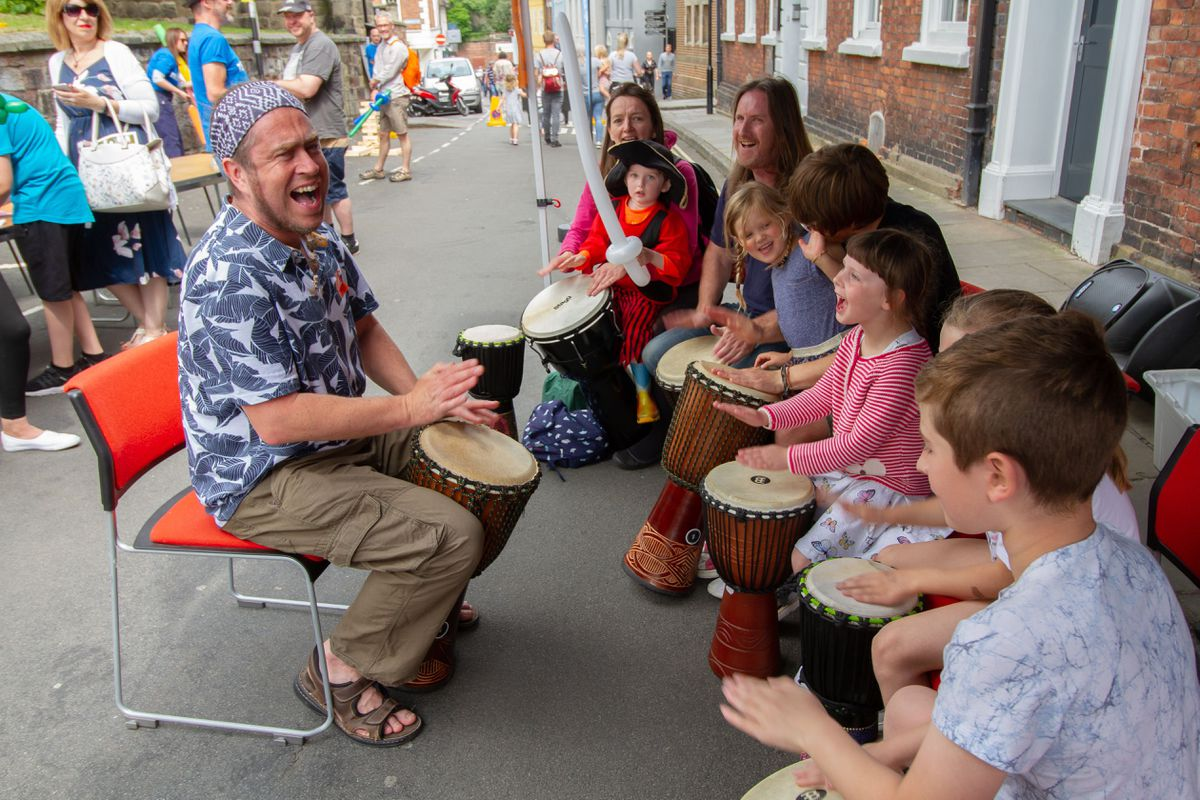 A range of free activities are taking place in Shrewsbury over the summer