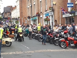 Broseley Festival of Motorcycling attracts hundreds