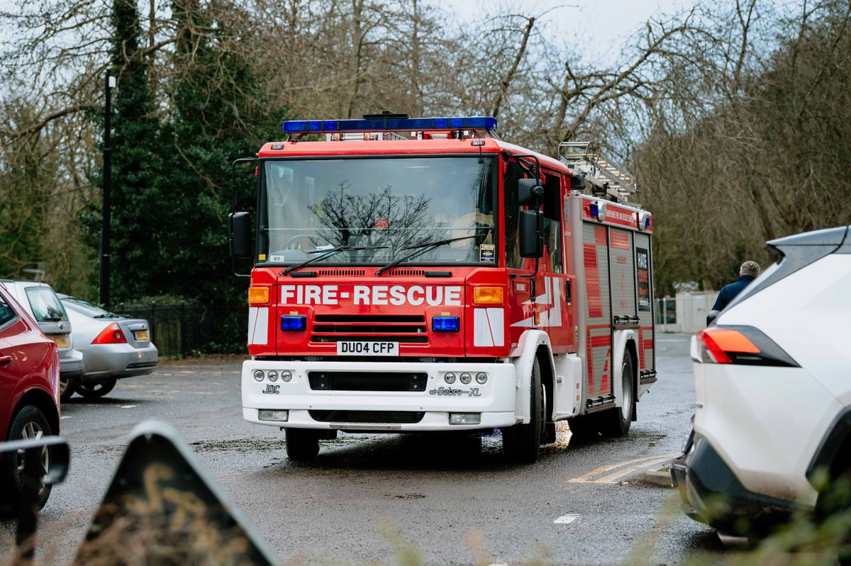 Emergency services at in Ironbridge