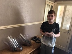 Teenage carer uses own money to make PPE