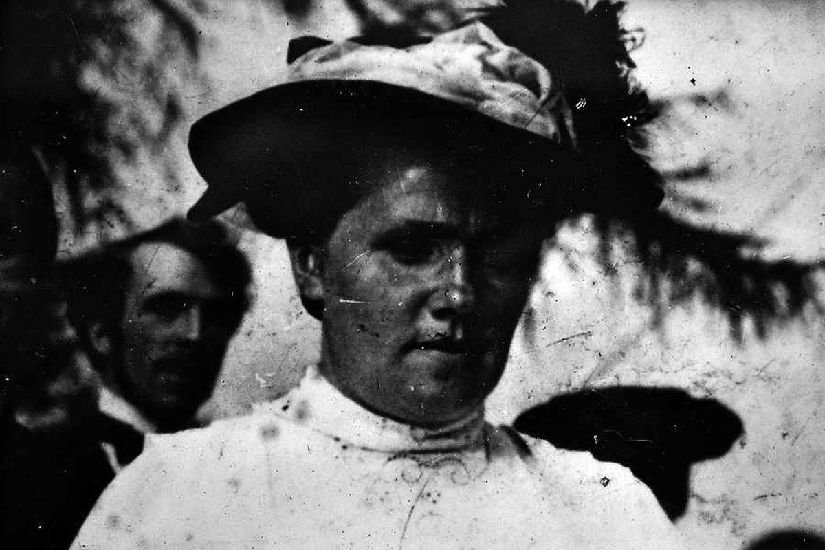 Stella's mum, Mrs Beatty Jones, in costume