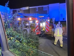 Man rescued from Telford house fire