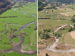 Bring on the rain! Photos reveal region's dried-up lakes and rivers