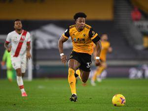 Adama Traore of Wolverhampton Wanderers.