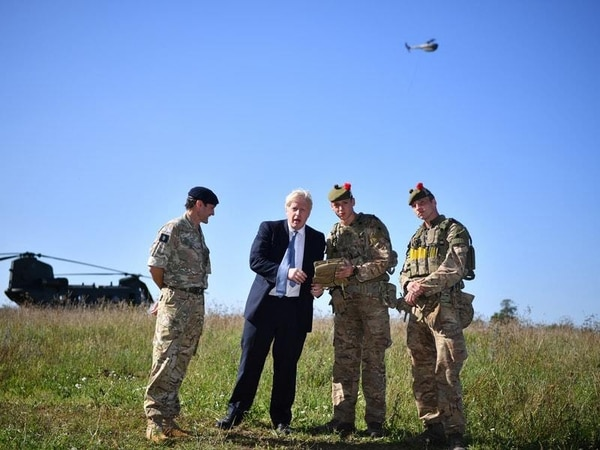 Boris Johnson admits he repeatedly crashes drones after testing Army device