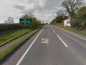 The A41 at Tern Hill. Pic: Google
