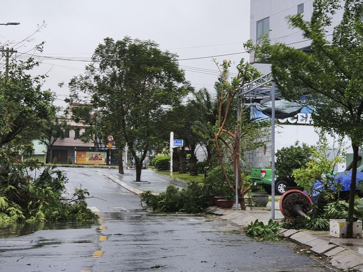 Vietnam Typhoon