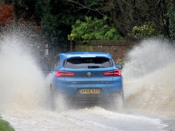 How to drive safely in floods