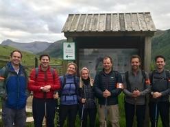 Three Peaks climbers raise £15,000 for charity