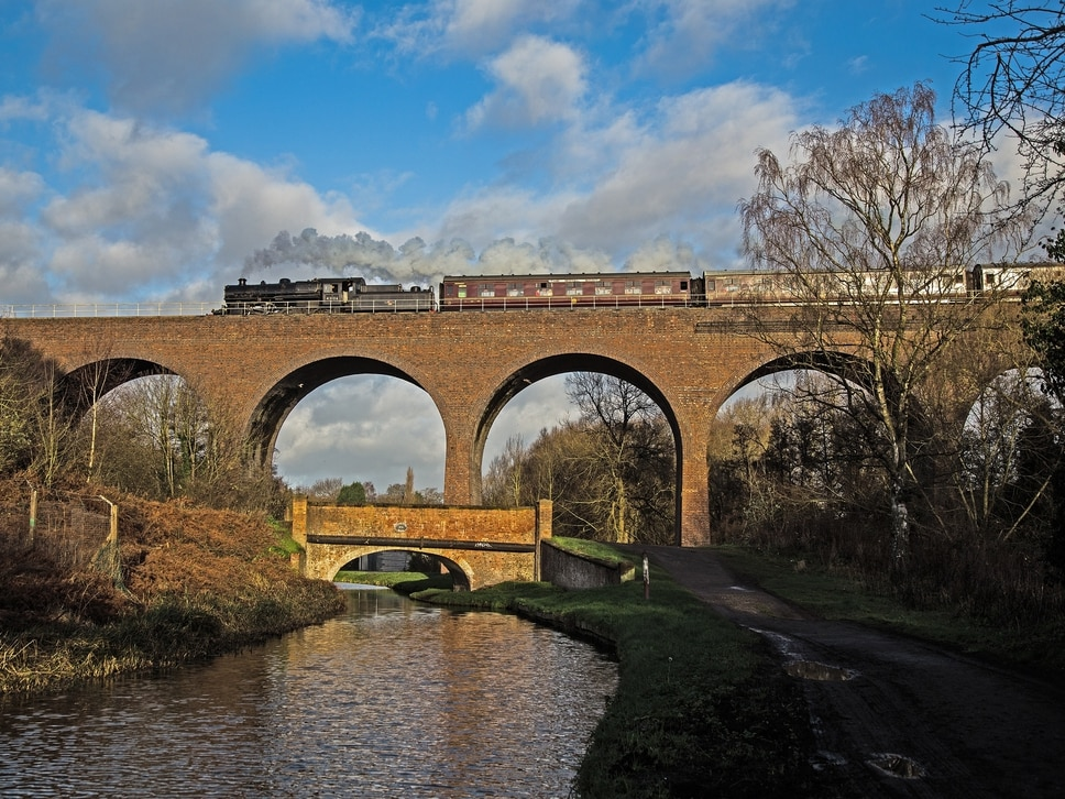 Severn Valley Railway races ahead and hits viaduct fundraising target