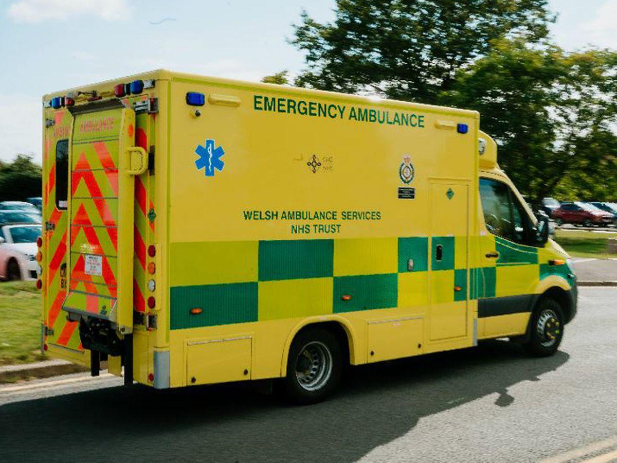 Welsh Wales ambulance stock