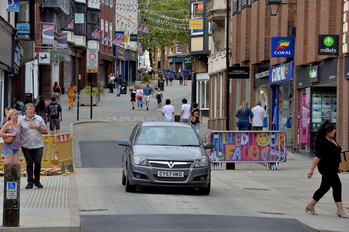 New speed bumps in Shrewsbury