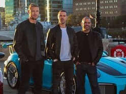 Top Gear star Paddy McGuinness has a laugh with Telford hotel