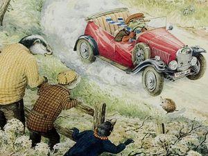 Mr Toad - bringer of nostalgia