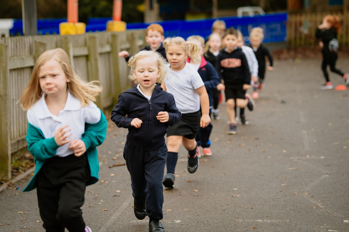 Pupils at Much Wenlock Primary School are raising money for Telford Mind