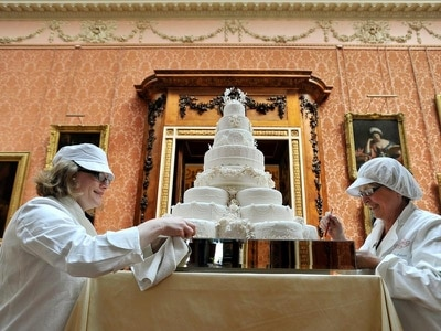 The tradition of royal wedding cakes