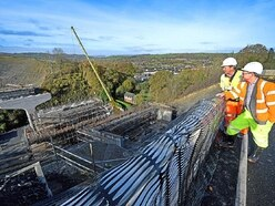Newtown bypass: Shape of things to come as work passes halfway stage - with pictures and video