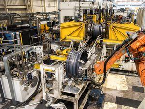 Inside Telford's GKN plant