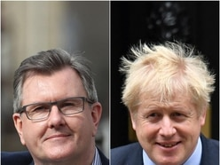 DUP calls on the Government to 'look again' at Boris Johnson's Brexit deal