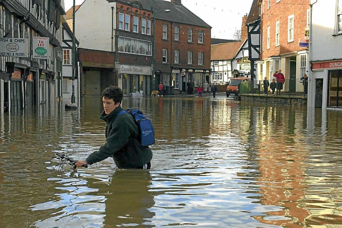 Insurance rise fears over Shropshire flood-risk map ...