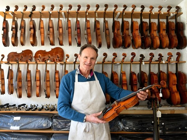 Precision is the key - meet violin maker Anthony Nickolds