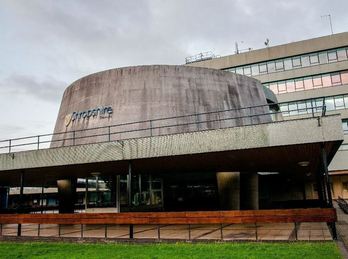 Shropshire Council's headquarters at Shirehall, Shrewsbury